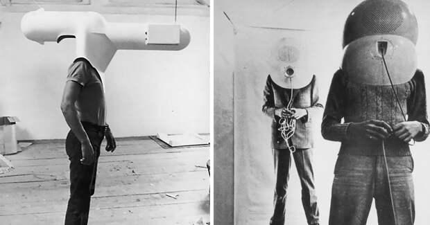 VR-шлем из 60‑х: футуристические концепты Вальтера Пихлера