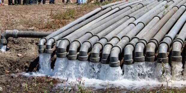 Симферополь подключился к водопроводу