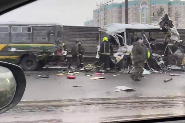 Названа причина ДТП с военными автобусами в Подмосковье