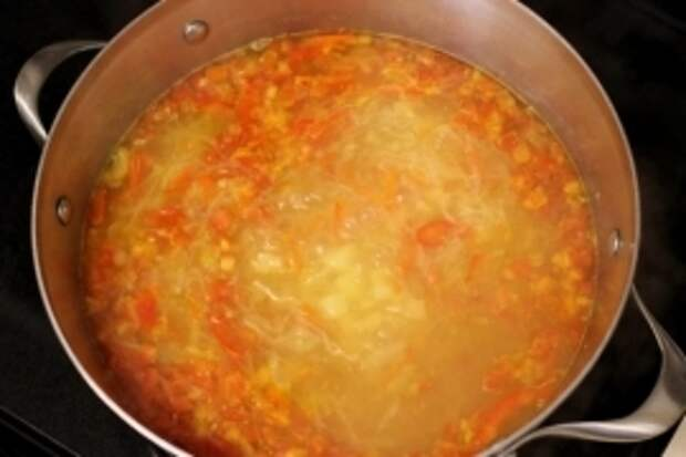 ДЕНЬ ПЕРВОГО БЛЮДА. Прозрачный суп с фрикадельками