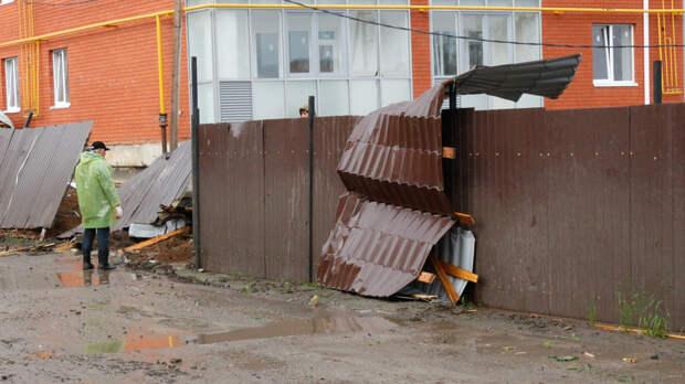 Предупреждение объявили вРостове-на-Дону из-за резкого усиления ветра