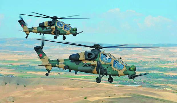 Вертолет Т-129 ATAK