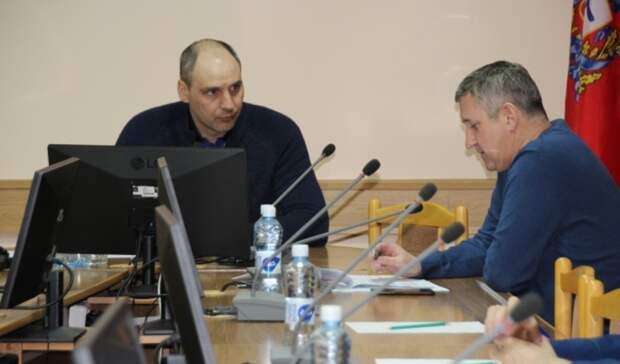 Паслер поручил мэру Новотроицка прочистить в городе ливневки и обустроить тротуары