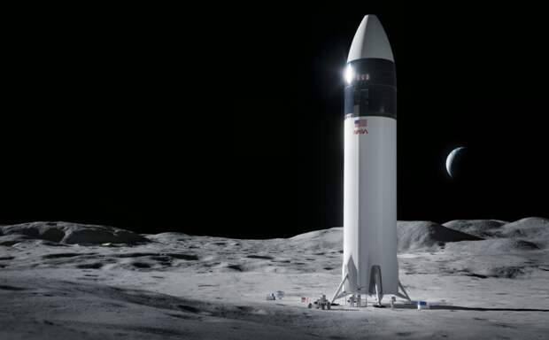 NASA заключило контракт сSpaceX врамках лунной миссии «Артемида»