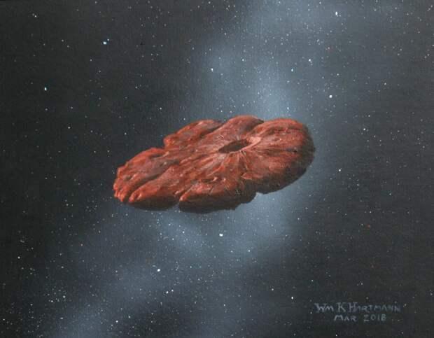 Стало известно, чем может быть космический объект Оумуамуа