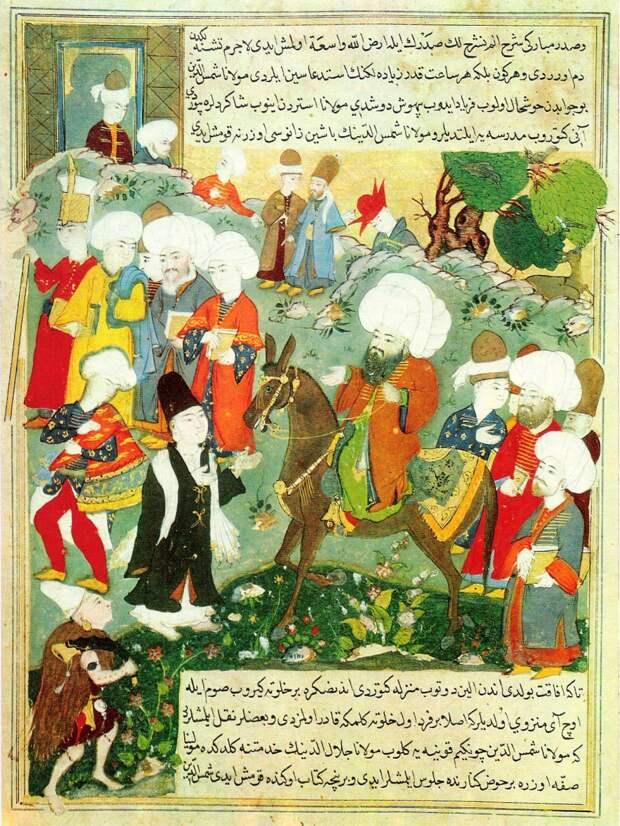 Главные школы исламской книжной живописи
