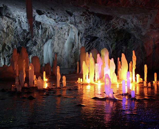 Концерт «Звуковой сплав» в Мраморной пещере, 16 мая