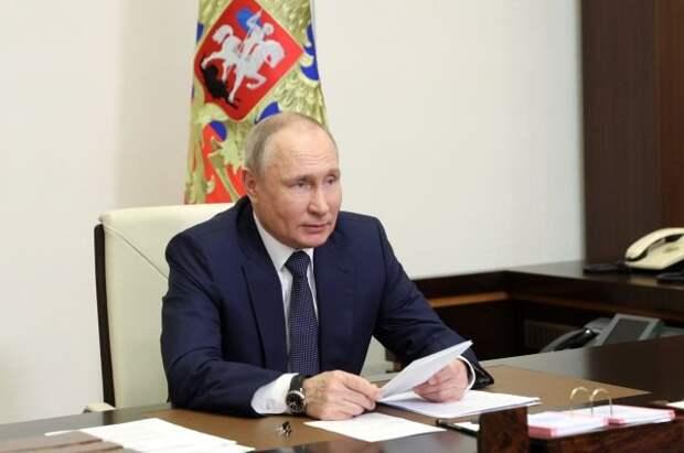 Путин отреагировал на слова Чернышенко о Долине гейзеров