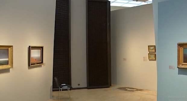 МВД обнародовало видео кражи картины из Третьяковской галереи