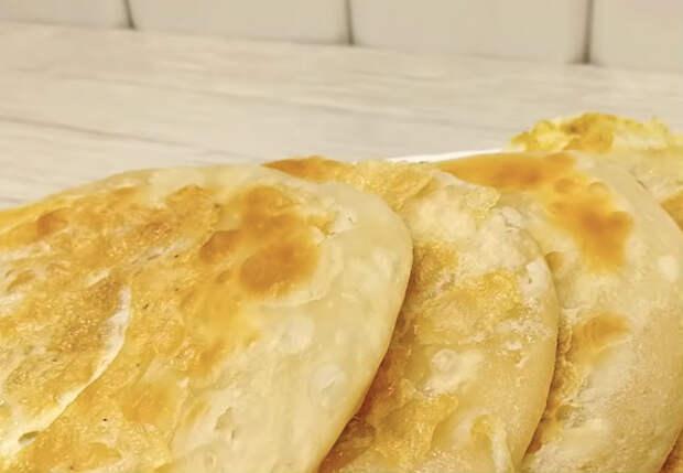 Смешали 3 ингредиента и уже через несколько минут ставим на стол лепешки на замену хлебу
