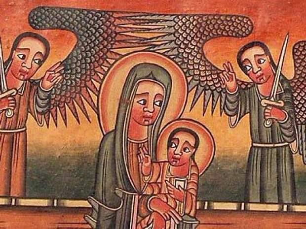 Вот как выглядят христианские иконы в Азии и Африке