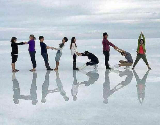 Еще одна идея группового фото