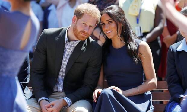 Принц Гарри с супругой
