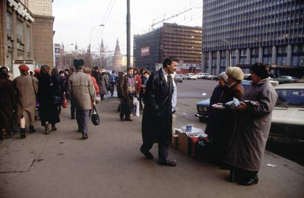 Россия 25 лет назад