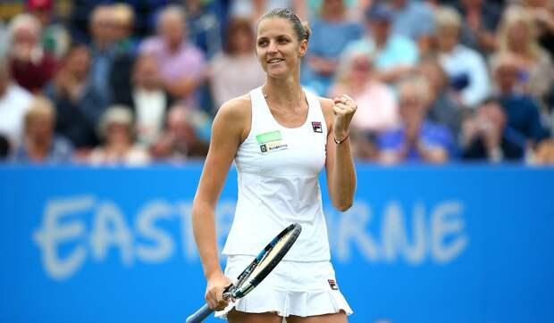 Плишкова выиграла у Остапенко и вышла в полуфинал турнира в Риме