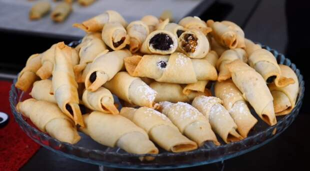 Многие забыли о таком вкусном печенье! Рогалики с маком