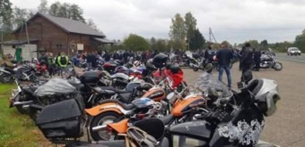 В Череповце официально закрыли мотосезон