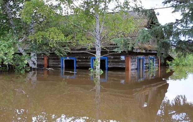 Уровень реки у Комсомольска-на-Амуре превысил опасную отметку