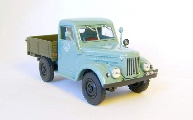 ГАЗ-69 пикап авто, автодизайн, газ, запорожец, моделизм, модель, москвич, советские автомобили