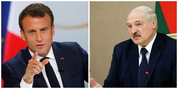 Лукашенко «как опытный политик — незрелому» дал совет Макрону