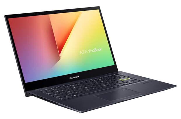 Ноутбук-трансформер ASUS VivoBook Flip 14 TM420 оснащён чипом AMD Ryzen