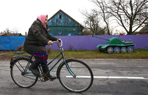 Креативное творчество в белорусской глубинке деревня, творчество