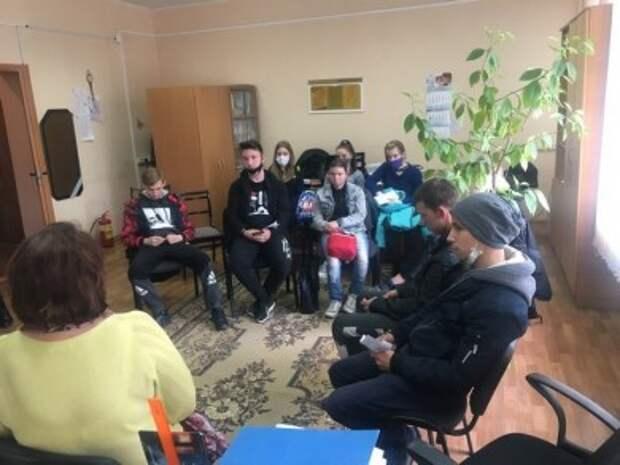 В ТЦСОН Первомайского района прошел ´День открытых дверей´ для детей-сирот.