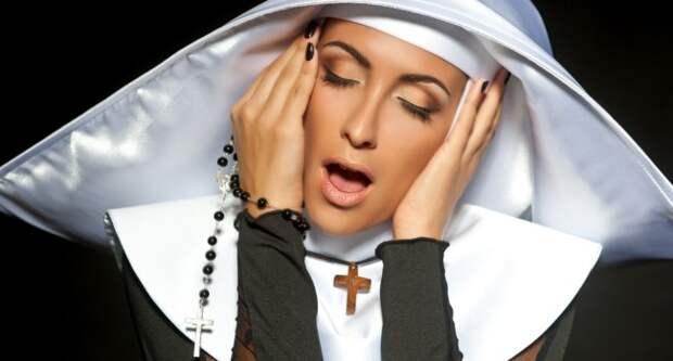 Блог Павла Аксенова. Анекдоты от Пафнутия про монашек. Фото darkfreya - Depositphotos