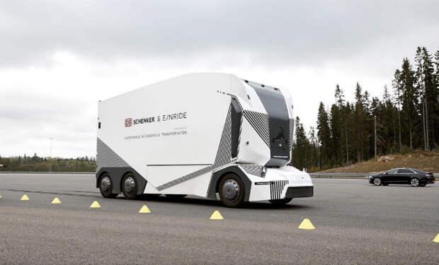 Новый грузовик оставит дальнобойщиков без работы