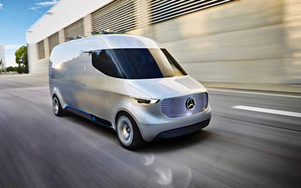 Mercedes-Benz Vision Van: Спринтер с джойстиком