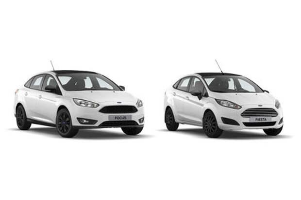 Началось производство и объявлены цены на Fiesta и Focus серии White and Black