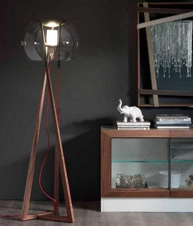 Красивые торшеры в интерьере: сочетаем осветительные приборы с разными стилями (69 фото)