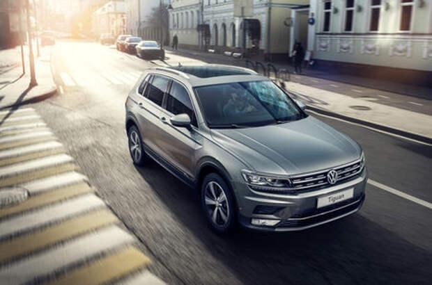 Новый Volkswagen Tiguan: названы цены и комплектации