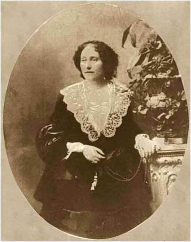 Нина Чавчавадзе в год смерти