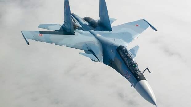 Красноперов сообщил о перехвате летчиком-асом ВС РФ на Су-30 трех самолетов ВВС Франции