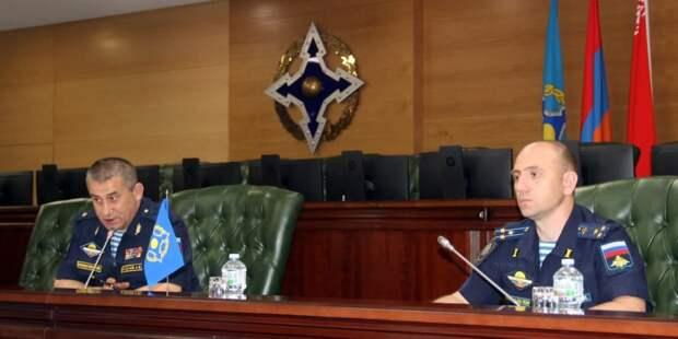 Силы ОДКБ провели совместную тренировку по инциденту на госгранице