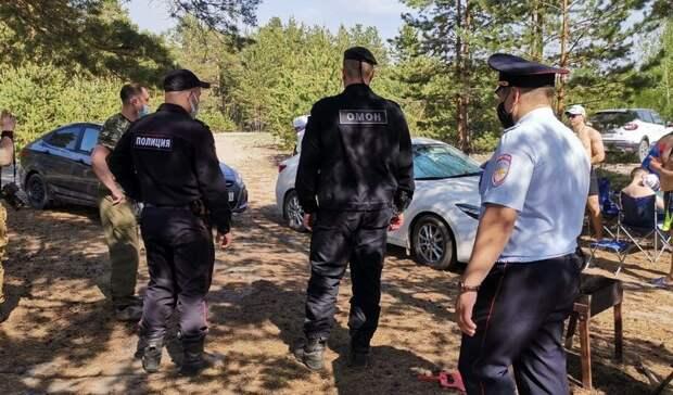 Полиция иРосгвардия проводят рейды потюменским лесам ипляжам