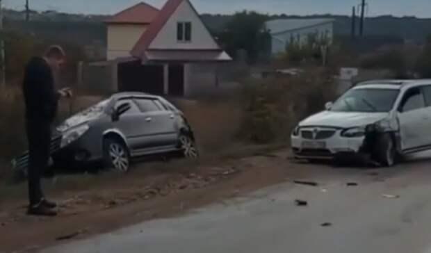 Три автомобиля столкнулись в Севастополе