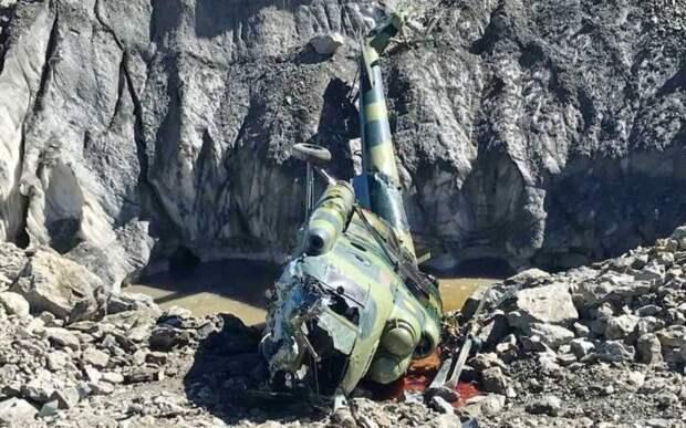 Передкрушением вертолёта Ми-8 ВВС Киргизии награнице сТаджикистаном была стрельба
