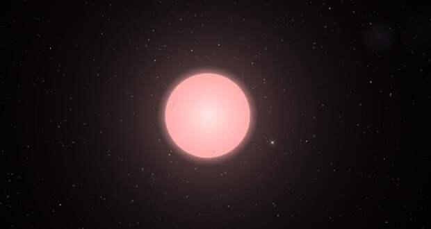 Звезда недалеко от Земли ведет себя очень странно
