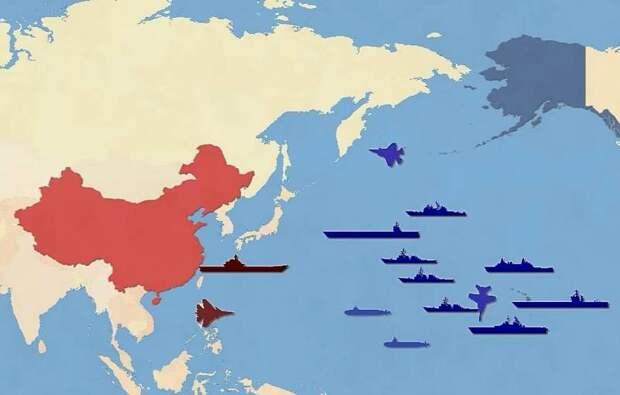США делают уверенный шаг к войне с Китаем