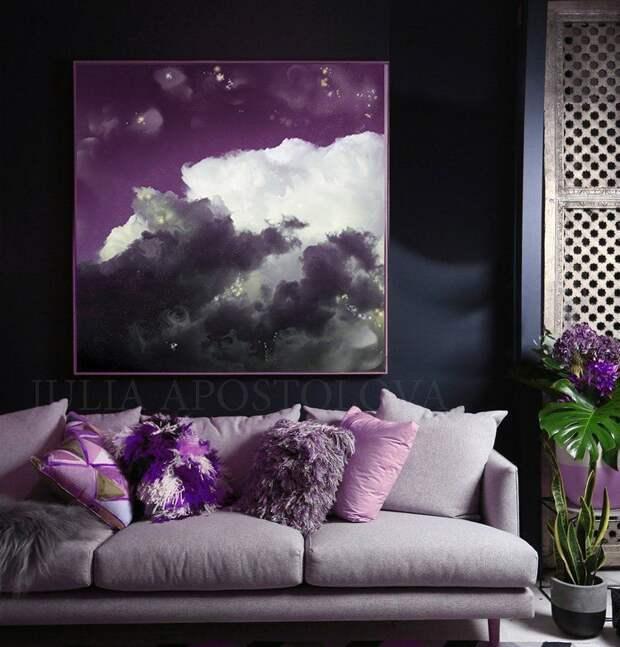 Сливовый цвет: 15 стильных идей для вашего интерьера