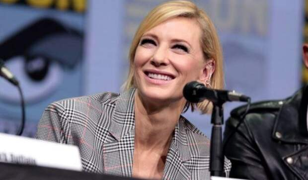 Кейт Бланшетт просит называть ее актером вместо актрисы