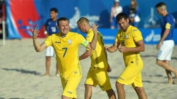 Сборную Украины по пляжному футболу не пускают на чемпионат мира в Москву