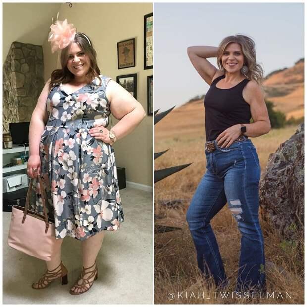 Американка похудела более чем на 56 кг без изнуряющих диет и тренажёров. И её секреты просты до банальности