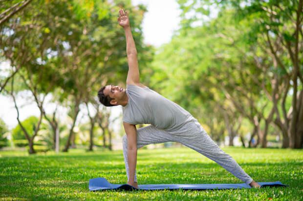 В сквере на Заповедной пройдут бесплатные занятия по йоге