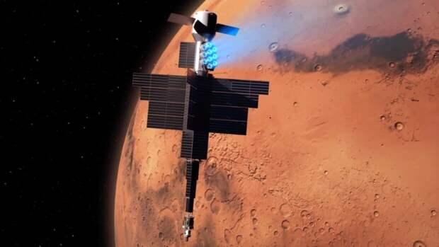Похожий на древнюю гробницу загадочный объект обнаружили на снимках Марса