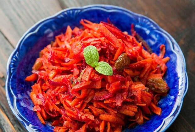 Витаминный зимний салат за минуты