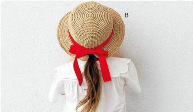 Схемы вязания крючком двух шляпок