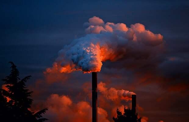 Антропогенный углеродный след превышает объем выбросов активных вулканов